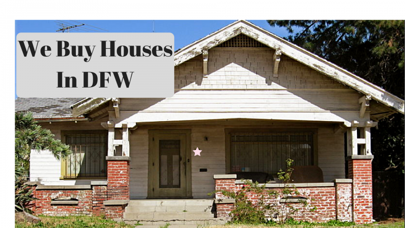 We Buy Houses DFW