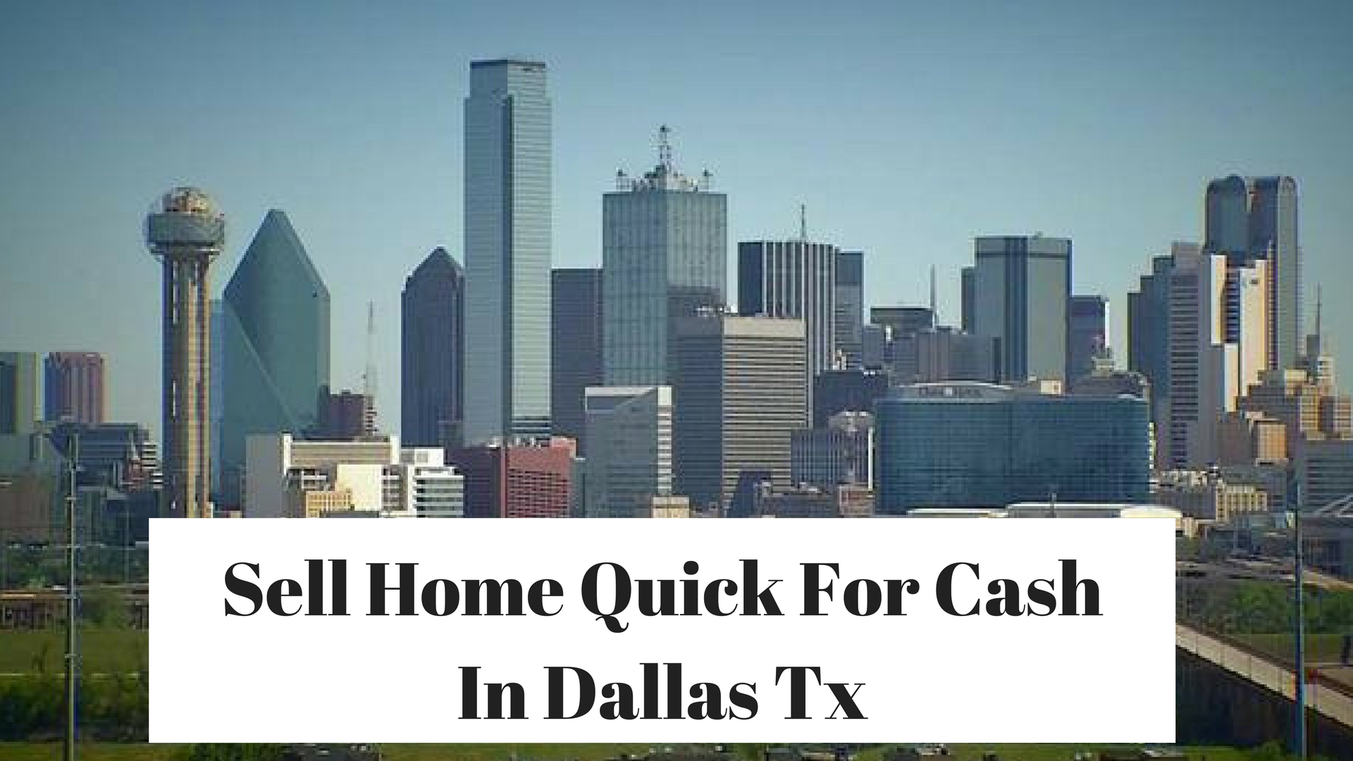 Sell home quick for cash in richardson tx archives we for Buy house in dallas texas