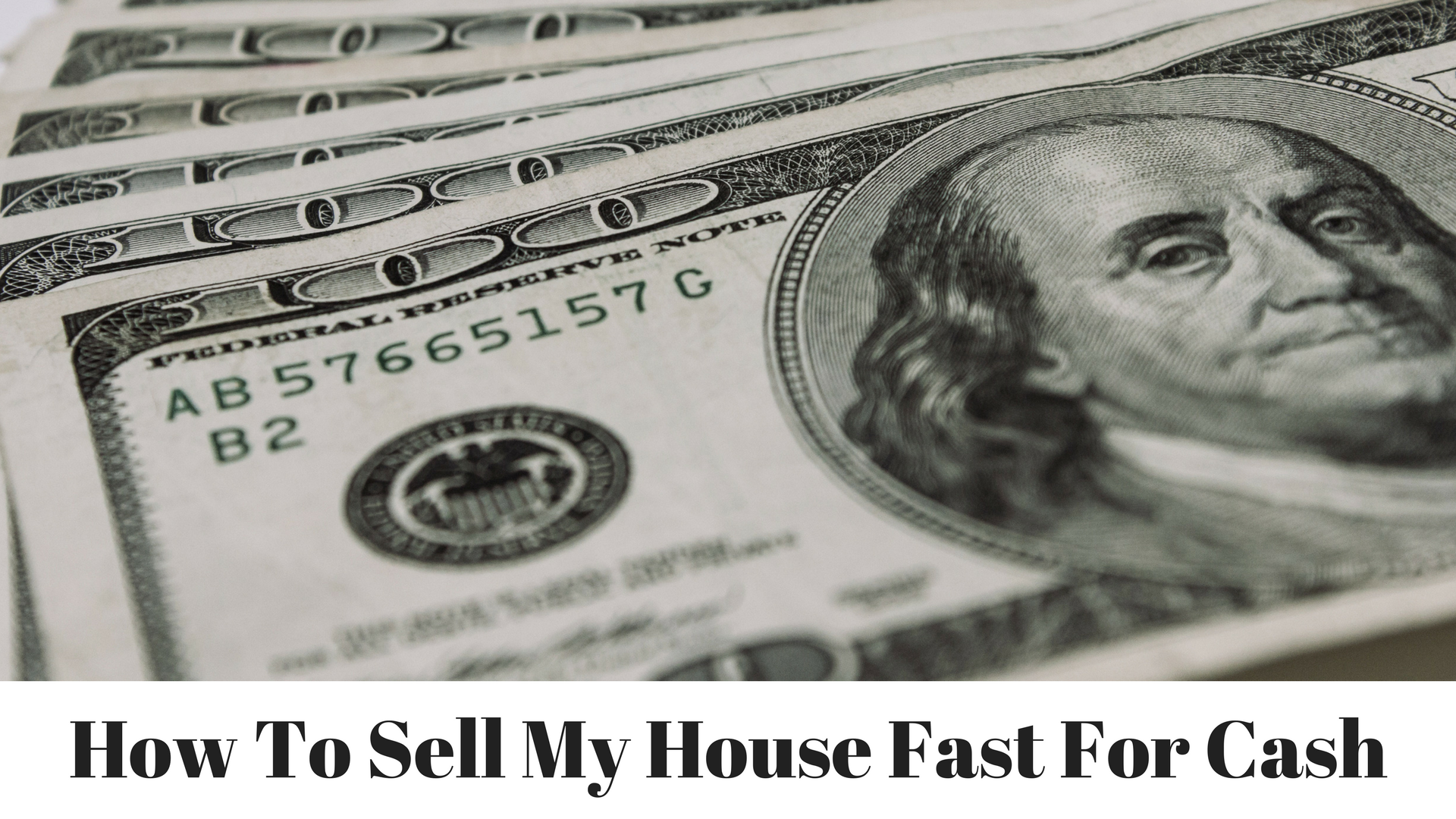 How To Sell My House Fast For Cash