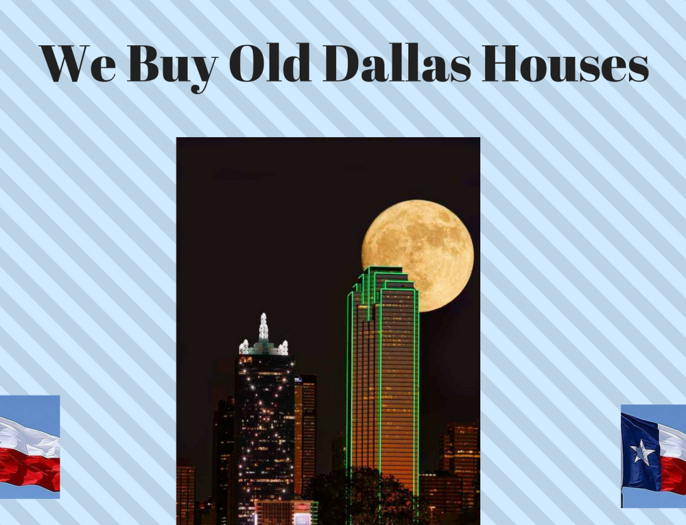 We Buy Old Dallas Houses