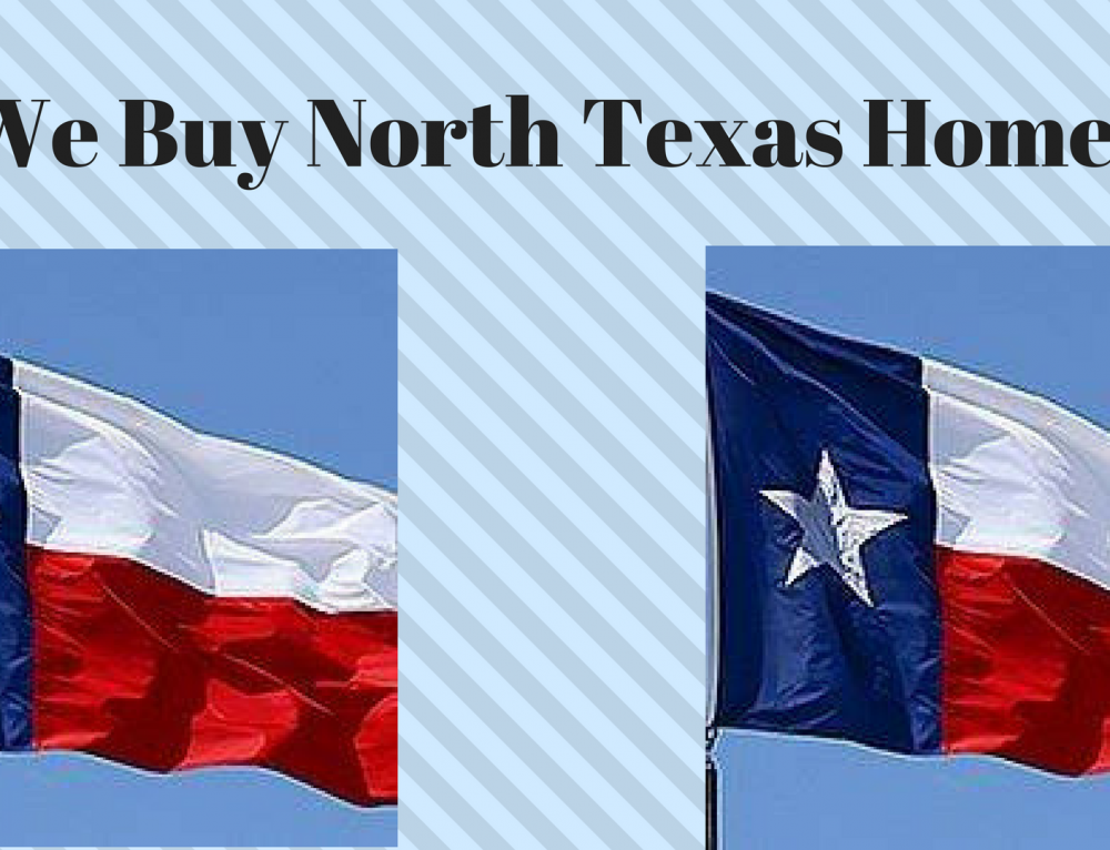 We Buy North Texas Homes