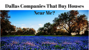 Where Are The Dallas Companies That Buy Houses Near Me