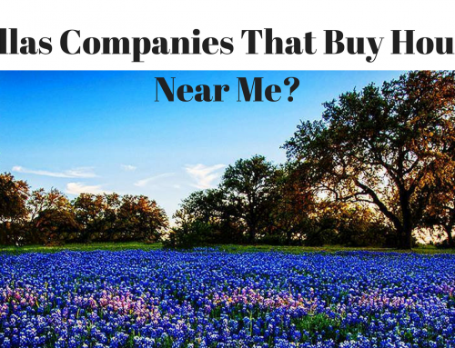 Dallas Companies That Buy Houses Near Me